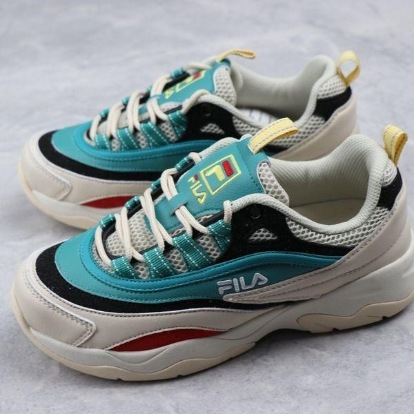 Fila Fusion Ray 2019 'White/Dark Green'