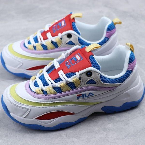 Fila Fusion Ray 2019 'White/Blue'