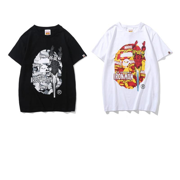 A Bathing Ape x Marvel 2019ss 03 T-Shirt