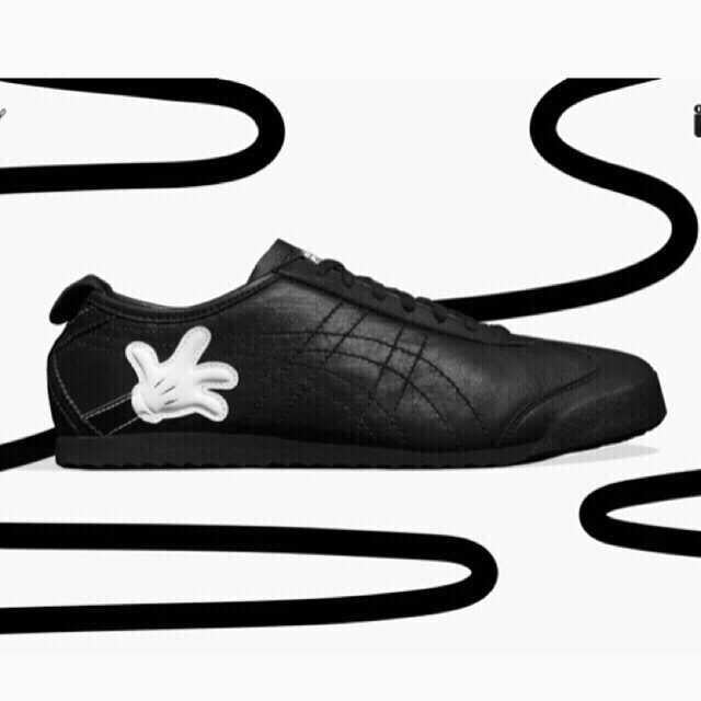 lowest price 249c1 fdf54 Onitsuka Tiger X Disney Mexico 66 - Mickey / Black