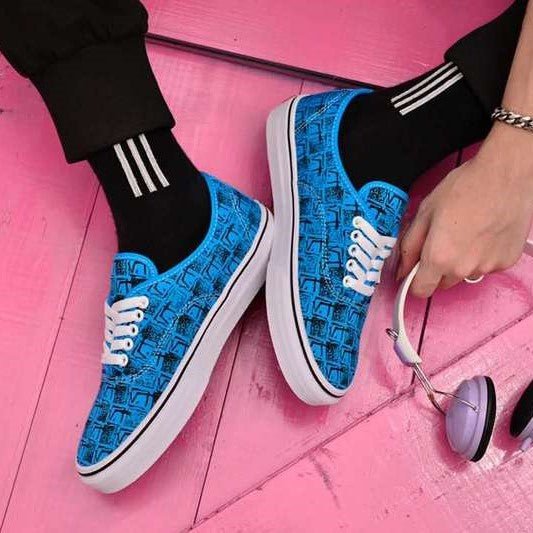 Vans  44 DX Shoes – (Anaheim Factory) OG Bright Blue/Square Root