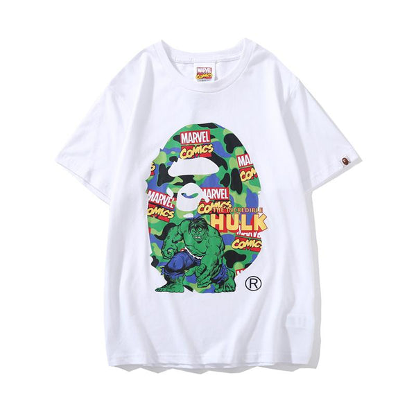 A Bathing Ape x Marvel 2019ss 05 T-Shirt