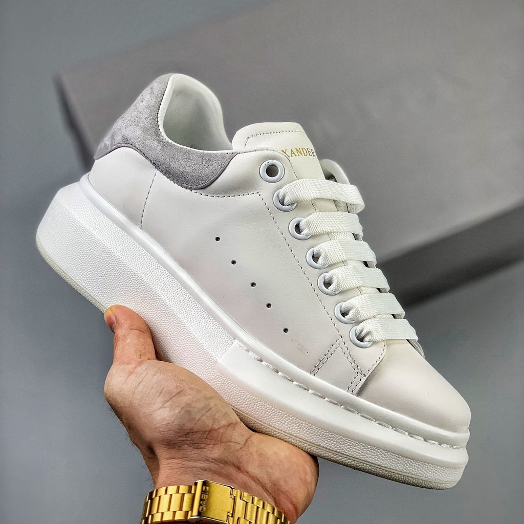 Alexander McQueen Oversized Sneakers  'Grey/White'