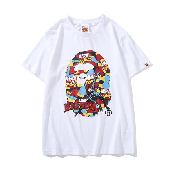 A Bathing Ape x Marvel 2019ss 08 T-Shirt