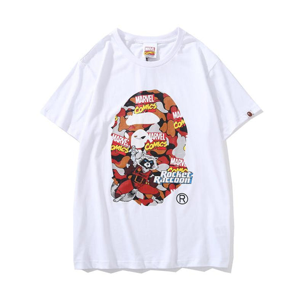 A Bathing Ape x Marvel 2019ss 07 T-Shirt