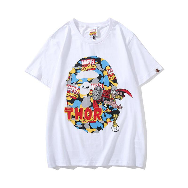A Bathing Ape x Marvel 2019ss 06 T-Shirt