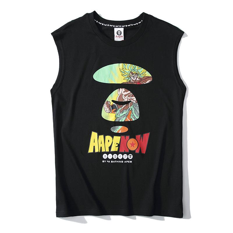 Aape By A Bathing Ape 2019SS 41 Vest T-shirt