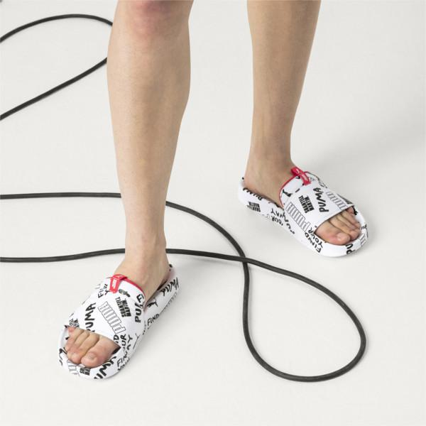 PUMA x Shantell Martin Leadcat Graphic Slides White