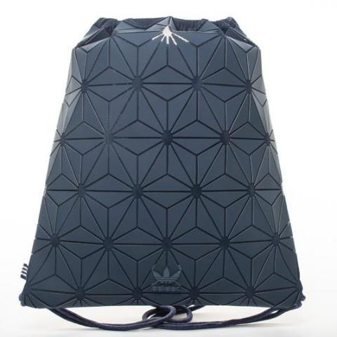 "3D Mesh Bag Bucket Gym Sack ""Navy Blue"""