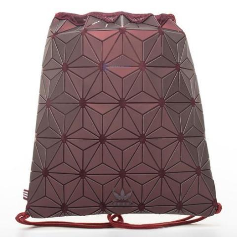 "3D Mesh Bag Bucket Gym Sack ""Burgundy"""