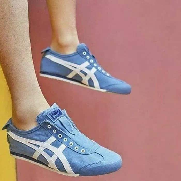 the latest c449c 71fd1 Onitsuka Tiger Mexico 66 Slip On Blue Heaven