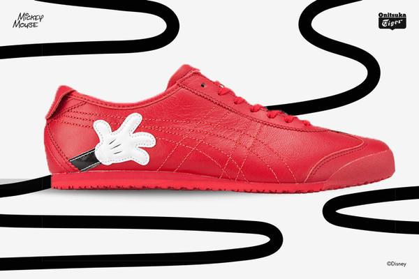 new arrival 81803 7acaf Onitsuka Tiger X Disney Mexico 66 - Mickey / Red