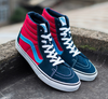 VANS SK8 HI Classic - Dress Blues / Chilli Pepper