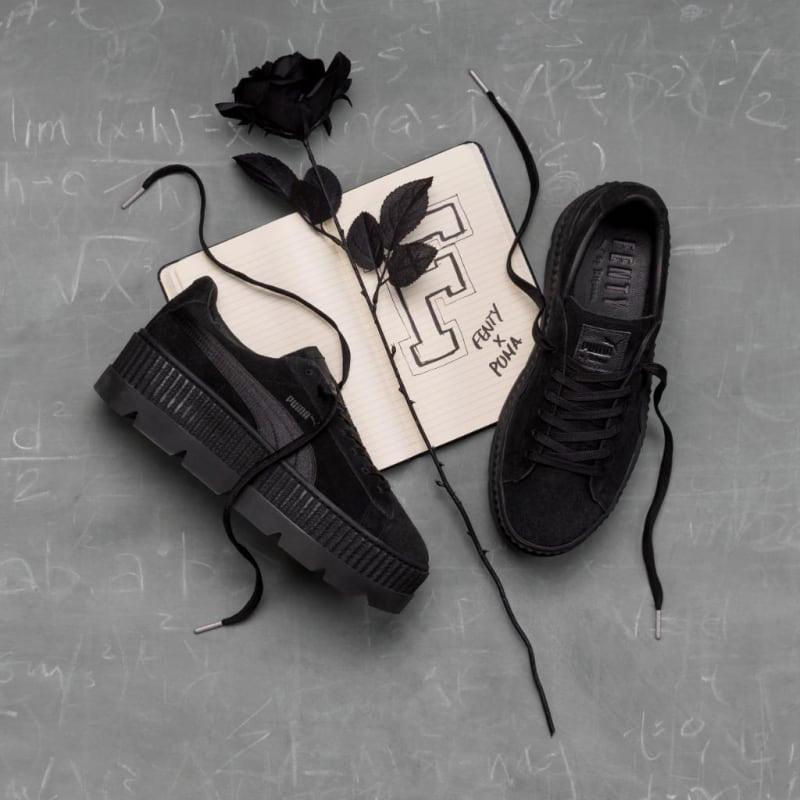 best service 52549 cbf92 Rihanna x Puma Fenty Cleated Creeper 'Puma Black'