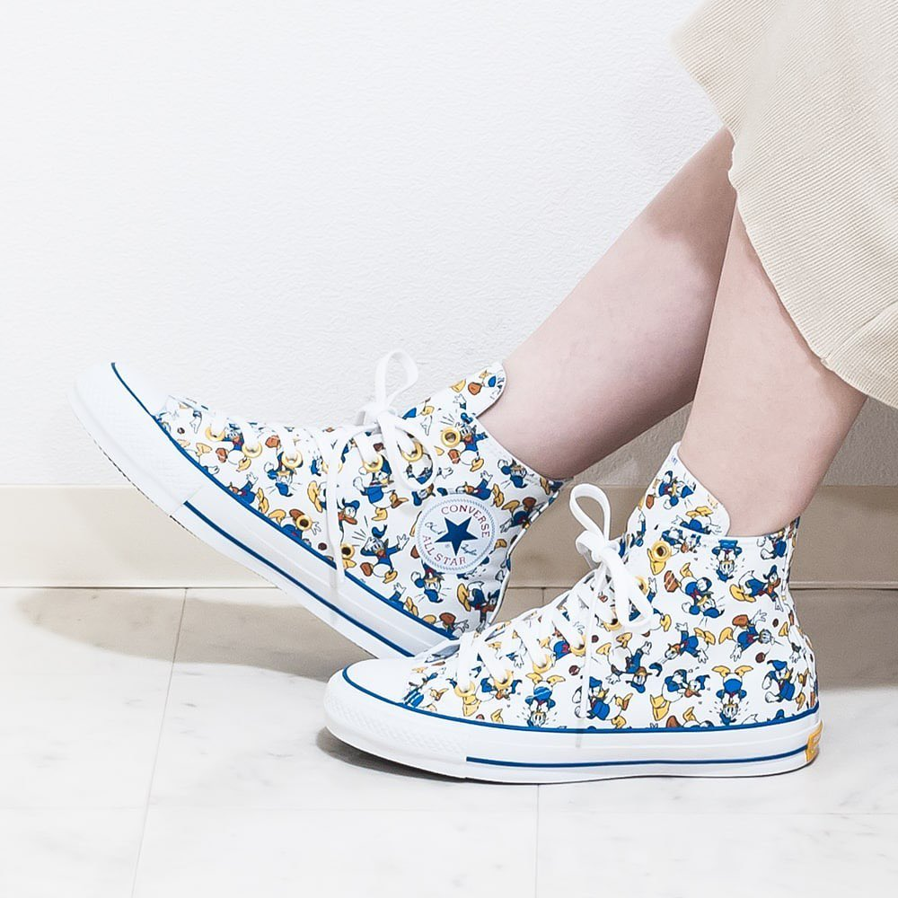 CONVERSE ALL STAR 100 DONALD DUCK PT HI Converse all-stars 100 Donald Duck PT HI