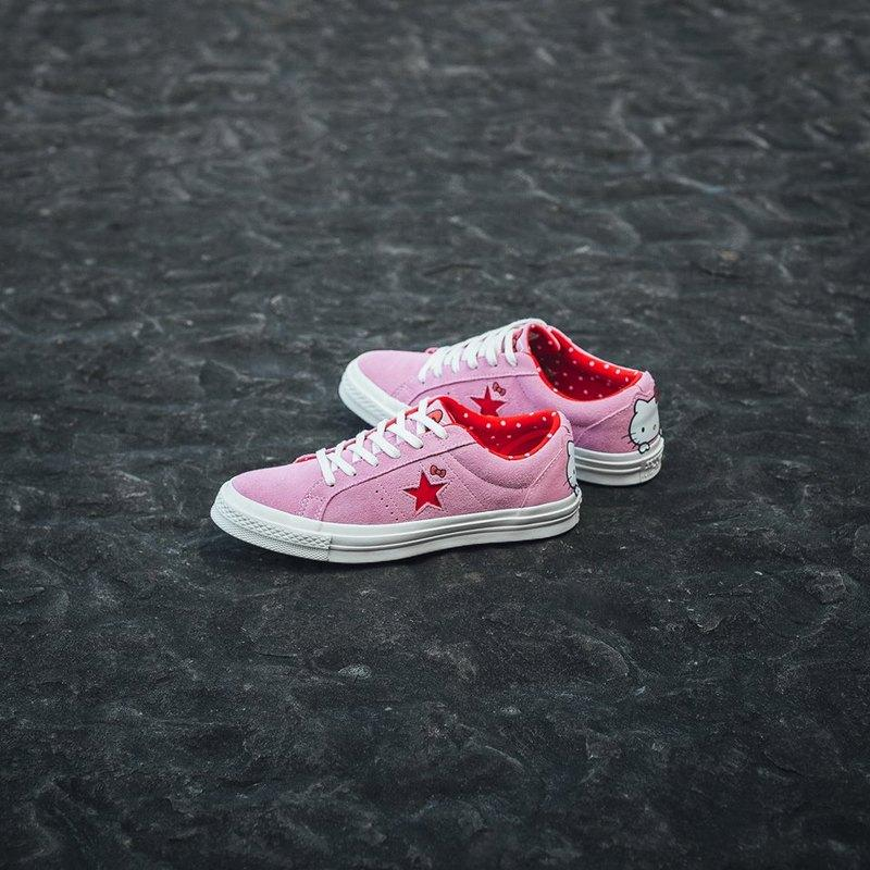 "Hello Kitty x  One Star Suede OX Top "" Pink"""