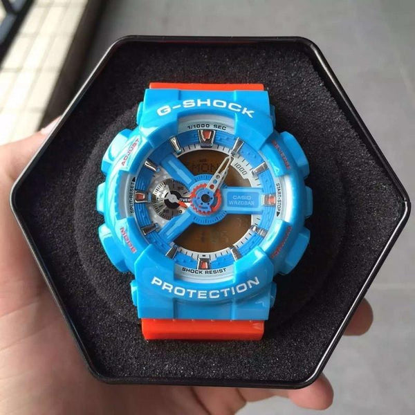 G-Shock GA-110NC-2 Blue Orange