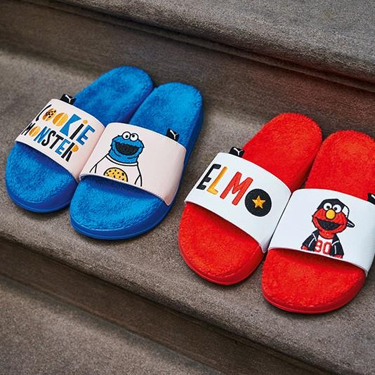 "Puma x Sesame Street 50 Leadcat Slides PS ""Red"""