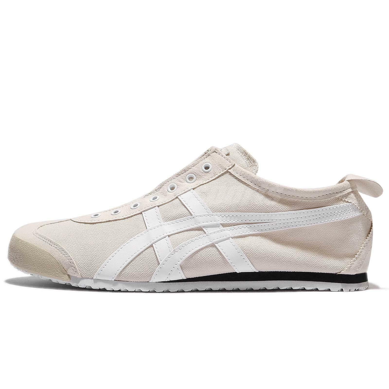the best attitude d8b04 0cfbe Onitsuka Tiger Mexico 66 Slip On Birch White