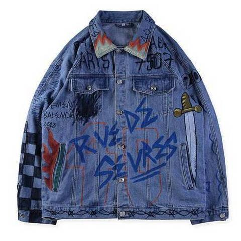 Balenciaga Denim Jacket #001