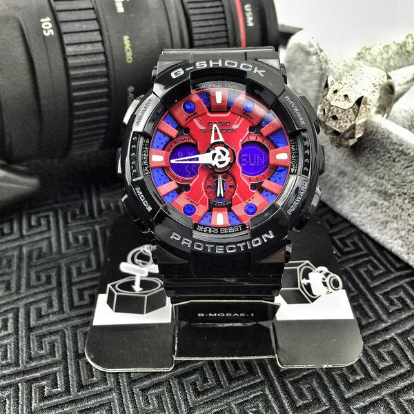 G-Shock GA120B-1AJF Red / Blue / Black