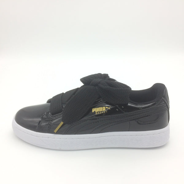 PUMA Basket Heart Patent' Black' - Euro 36