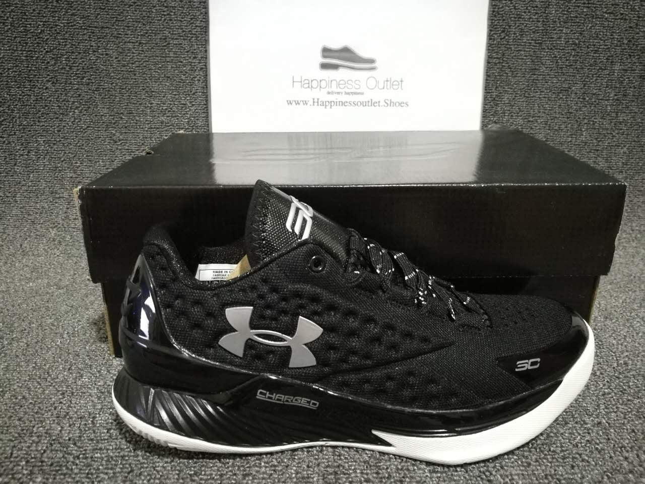 pretty nice 4954a aaa16 Under Armour Curry 1 Low Black