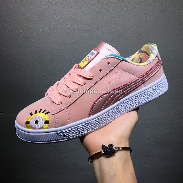 Puma Metallic Metallic Basket Puma Creepers Rose Creepers Basket Rose Basket Puma 3lFKJT1cu
