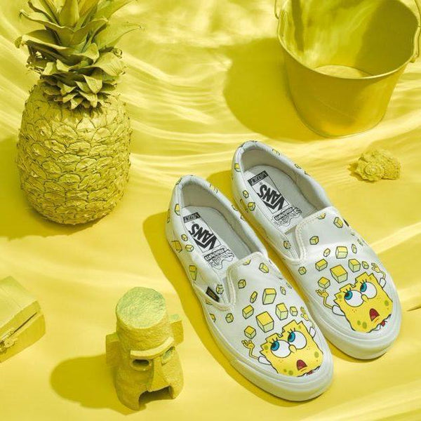 Vans Vault x SpongeBob OG Classic Slip-On LX 'Yellow'