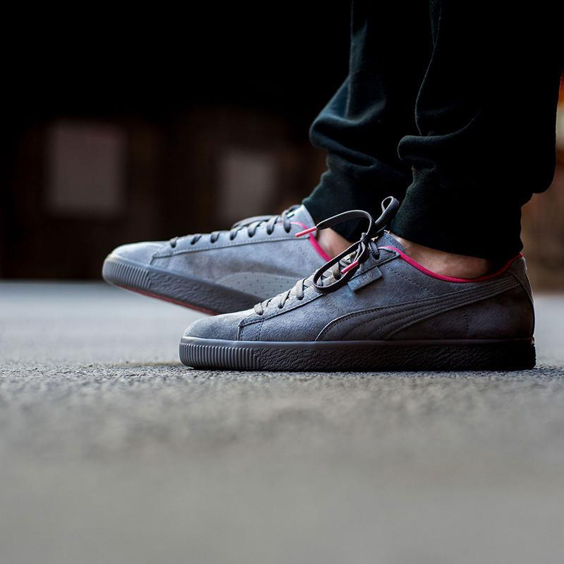 hot sale online ee313 2093c Puma x Staple Clyde High Rise /Glacier Grey