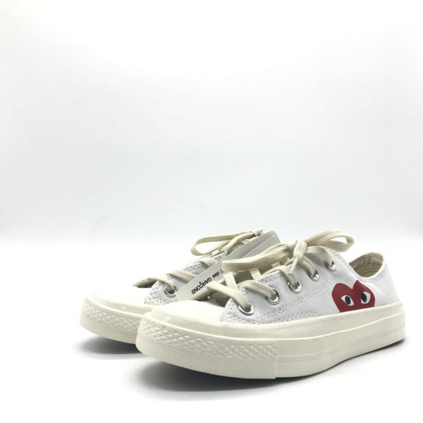 PLAY x Chuck Taylor- 'Hidden Heart' White -36