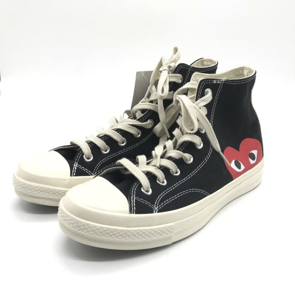 PLAY x Chuck Taylor- 'Hidden Heart' Black -43