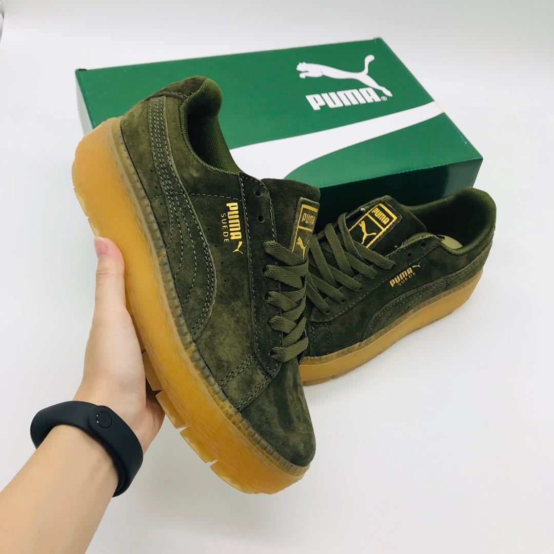 finest selection a42b3 bf24c PUMA Suede PLATFORM TRACE