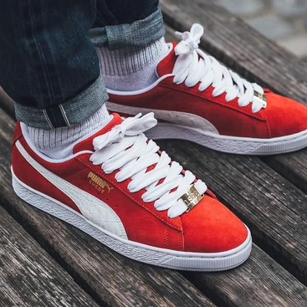 uk availability 10200 beab3 Puma Suede Classic Bboy Fabuloud Red