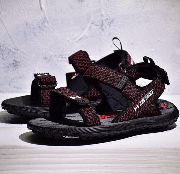 UA Fat Tire Sandal 'Black/Red'