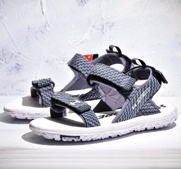 UA Fat Tire Sandal 'Gray Wolf/White'