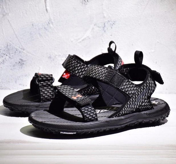 UA Fat Tire Sandal 'Black/Wolf Grey'