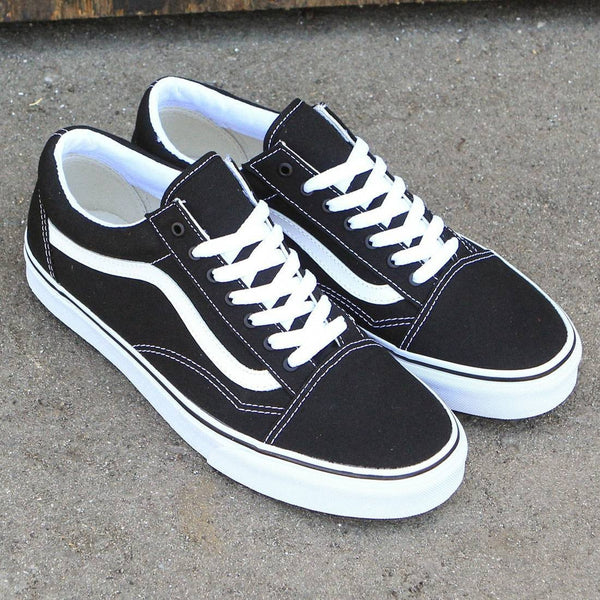 VANS Canvas Old Skool Classic - Black/True White