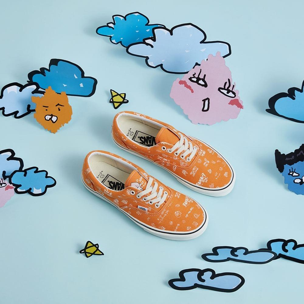 "Vans x Kakao Friends x Hyunye ""Orange/White"""