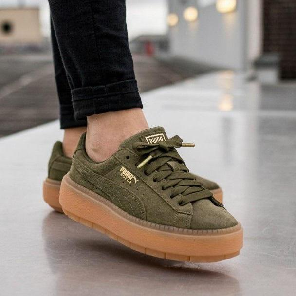 huge selection of 67a78 c6287 PUMA Suede PLATFORM TRACE