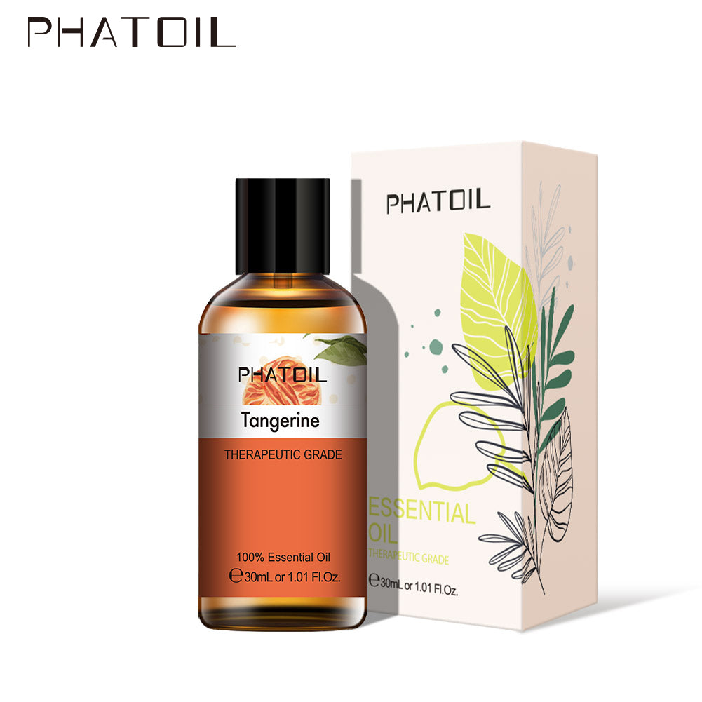 PHATOIL 30ml Pure Essential Oils With A Beautiful Box Aromatherapy Essential Oils 37 Fragrances - 1SpyCamera