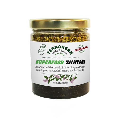 Spread: Superfood Za'atar Spread 5.5oz.