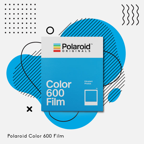 Polaroid Originals 600 Color Film (White Frame)