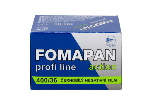FOMA Fomapan 400 Action B&W Negative 135-36 Film