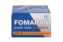Load image into Gallery viewer, FOMA Fomapan 200 Creative B&W Negative 135-36 Film