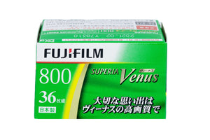 FUJIFILM Fujicolor Superia Venus 800 Color Negativen 135-36 Film