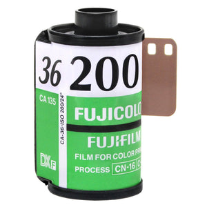 FUJIFILM Fujicolor C200 Color Negative 135-36 Film