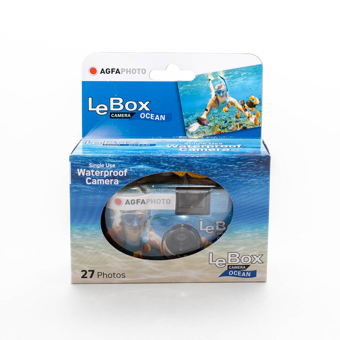 AgfaPhoto Lebox Ocean 400 Waterproof Disposable Camera