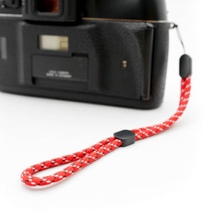 Paracord Camera Wrist Strap (Red)