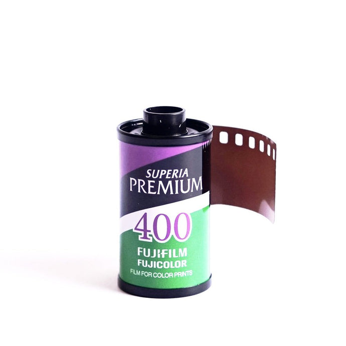 FUJIFILM Fujicolor Superia Premium 400 Color 135-36 Negative Film